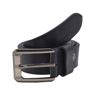 Porcupine Black Pure Leather Formal Belt