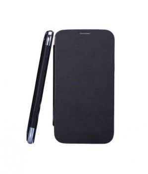 premium selection 28746 59d10 Camphor Flip Cover For Micromax Bolt A24 - Black