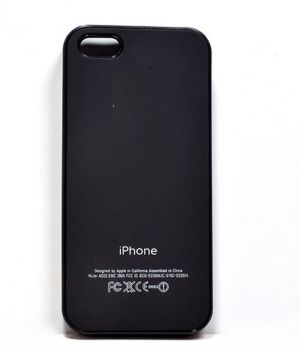 Camphor Back Cover For Apple Iphone 5g/5s - Black