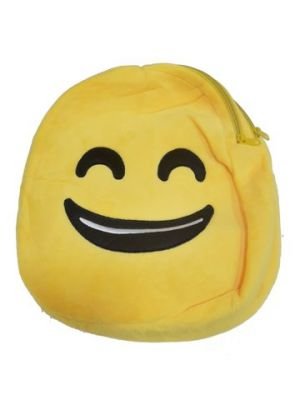 Buy Brandaxis Smiley Shape Medium Size School Bags For Kids online