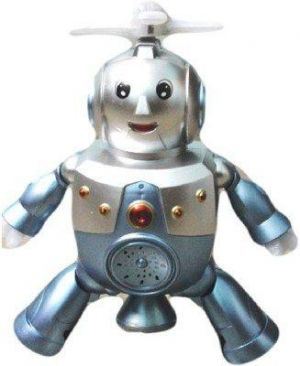 Buy Scrazy Musical Dancing Robot With Fan And Flash Light online