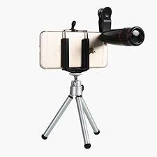 Buy iPhone 6 12x Telescope Lens Kit Set - Zoom Lens, Back Cover & Mobile Tripod online