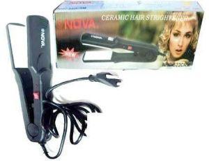 Buy Nova Ceramic Hair Strightener And Styler-nhc-522 Crm For New Styling 1 Pc. online