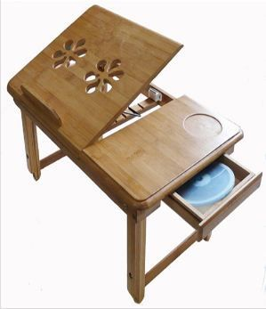 Buy Multipurpose Wooden Foldable Laptop Study Table Online