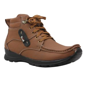 Buy Leather Soft Genuine Leather Casual Tan Boots - (code -ls-1001-tan) online