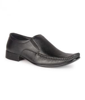 Buy Leather King Genuine Leather Black Formal Shoes - (code -lk-2009-54-bk) online