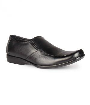 Buy Leather King Genuine Leather Black Formal Shoes - (code -lk-2009-76-bk) online