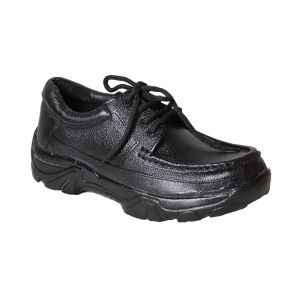 Buy Leather Soft Genuine Leather Casual Black Shoes - (code -ls-awd-02-bk) online