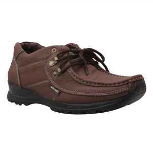 Buy Leather Soft Genuine Leather Casual Brown Shoes - (code -ls-k2-br) online