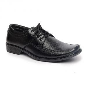 Buy Leather Soft Genuine Leather Black Formal Shoes - (code -ls-rk-03-bk) online