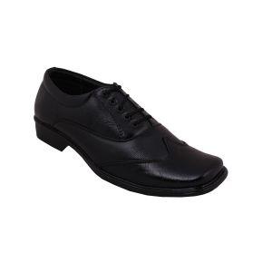 Buy Leather Soft Genuine Leather Black Formal Shoes - (code -ls-rk-10-bk) online