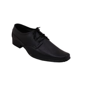Buy Leather Soft Genuine Leather Black Formal Shoes online
