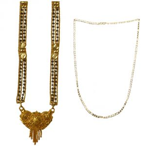 Buy Sondagar Arts Latest Mangalsutra Chain Combo Offers For Women online