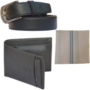 Buy Sondagar Arts Latest Leather Belt Wallet Combo Offers For Men online