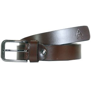 Buy Sondagar Arts Formal Brown Genuine Leather Belt For Mens online