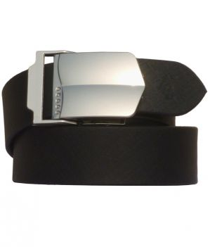 Buy Sondagar Arts Black Leather Autolock Formal Mens Belt online
