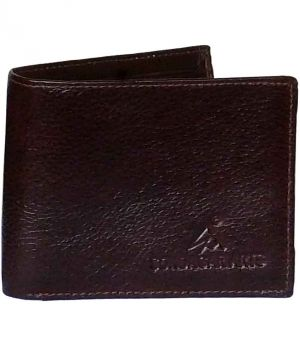 Buy Sondagar Arts Men's Latest Style Brown Genuine Leather Wallets For Men online
