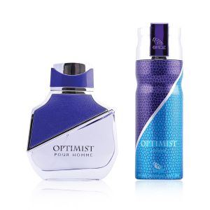Buy Ekoz Optimist Deo 200 Ml & Perfume 100 Ml Combo For Men (Combo Pack Of 2) online