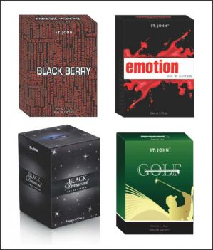 Buy St.Johnvijohn Emotions & Golf & Black Berry & Black Diamond With Taster online
