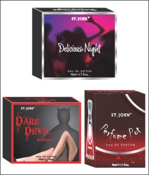 Buy St.Johnvijohn Perfume Pot & Dare Davil & Delious Night online