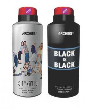 Buy Archies Deo City Gang & Black Is Bkack online