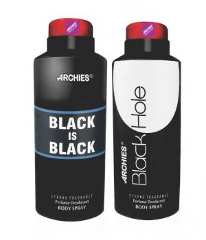 Buy Archies Deo Black Is Bkack & Black Hole online