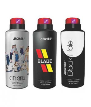 Buy Archies Deo City Gang & Blade & Black Hole-(code-vj563) online