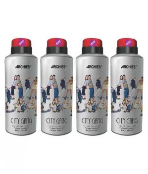 Buy Archies Deo City Gang (Set Of 4) online