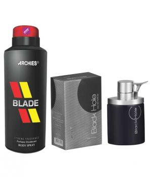 Buy Archies Deo Blade & Pefume Black Hole-(code-vj608) online