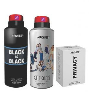 Buy Archies Deo City Gang & Black Is Bkack   Perfume Privacy online