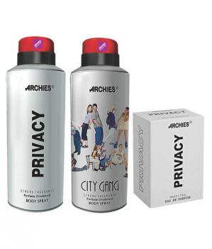 Buy Archies Deo City Gang & Privacy   Perfume Privacy online