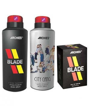 Buy Archies Deo City Gang & Blade   Perfume Blade online