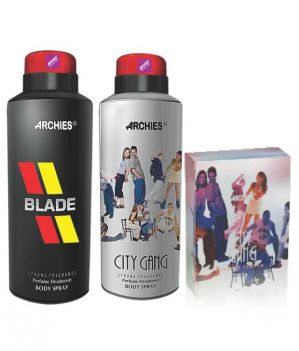 Buy Archies Deo Blade & City Gang  Perfume City Gang online