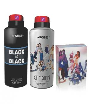 Buy Archies Deo Black Is Bkack & City Gang   Perfume City Gang online