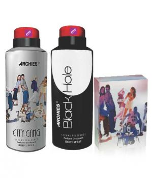 Buy Archies Deo City Gang & Black Hole + Perfume City Gang-(code-vj641) online