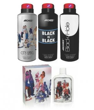 Buy Archies Deo City Gang & Black Is Bkack & Black Hole   Perfume City Gang online
