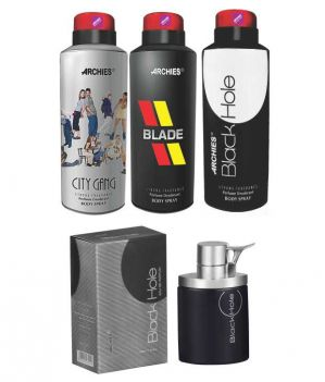 Buy Archies Deo City Gang & Blade & Black Hole   Perfume Black Hole online