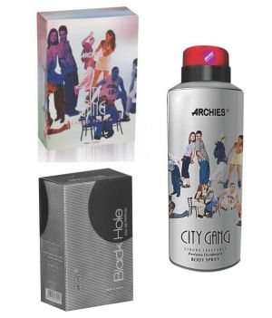 Buy Archies Perfume City Gang & Black Hole & Deo City Gang online