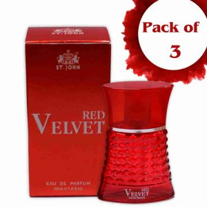 Buy St.john Perfume For Women 30ml Red Velvet (pack 3) online