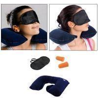 Buy 3-in-1-travel-set-air-neck-pillow-cushion-car-eye-mask-sleep-rest-shade online