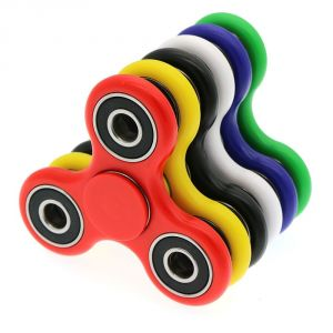 Buy Buy 1 Get 1 Tri-spinner Figet Spinner Hand Finger Bar Pocket Desk Focus Handmade Toy online