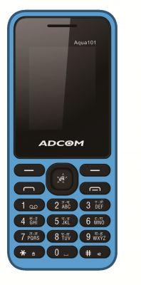Buy Adcom Aqua 101 Dual Sim Mobile Phone_ Black & Blue online