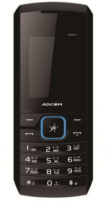 Buy Adcom Aqua 111 Dual Sim Mobile Phone_ Black & Blue online