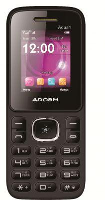 Buy Adcom Aqua1 Dual Sim Mobile Phone_ Black & Green online
