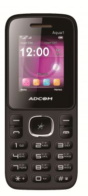 Buy Adcom Aqua 1 Dual Sim Mobile Phone_ Black & Orange online
