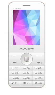 Buy ADCOM ICON A25 (White & Gold)- online