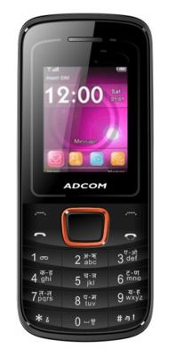 Buy Adcom Freedom X6 With Wireless Fm-black & Orange online