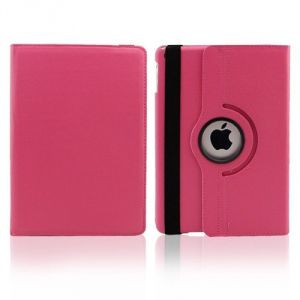 Buy Pu Leather 360 Degree Rotating Leather Case Cover Stand (hot Pink) For Ipad Mini 2 Retina online