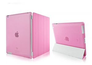 Buy Ultra Thin Magnetic Smart Case Clear Back Cover Stand For Apple Ipad Mini 2 Retina (light Pink) online
