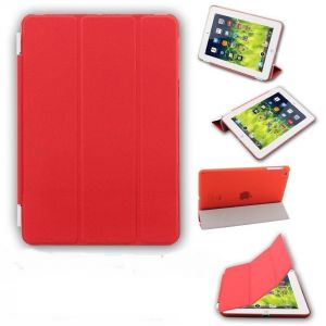 Buy Ultra Thin Magnetic Smart Case Clear Back Cover Stand For Apple Ipad Mini 2 Retina (red) online